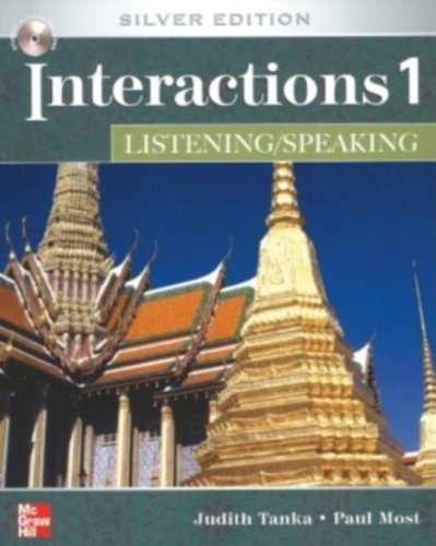 INTERACTIONS LISTENING/SPEAKING 1 Class AUDIO CD: Silver Edition by Judith Tanka (2007-01-23) ebook