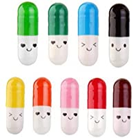 50st Capsule Letter Bottle Message in a mini uitschuifbare Fles Capsule Brief Cute Vriendschap van de Liefde Color