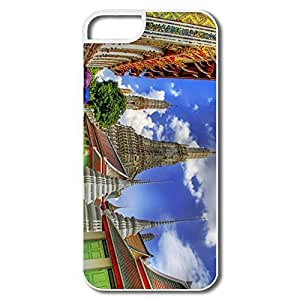 Case For Samsung Galsxy S3 I9300 Cover, Temple Bankok Thailand White Covers Case For Samsung Galsxy S3 I9300 Cover
