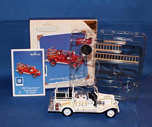 Hallmark Colorway 1929 Chevrolet Fire Engine Fire Brigade 2003 Keepsake Ornament