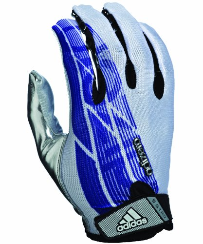 adidas Adizero 5-Star Football Receiver Gloves White/Purple/Silver OjKXpTzQ1A