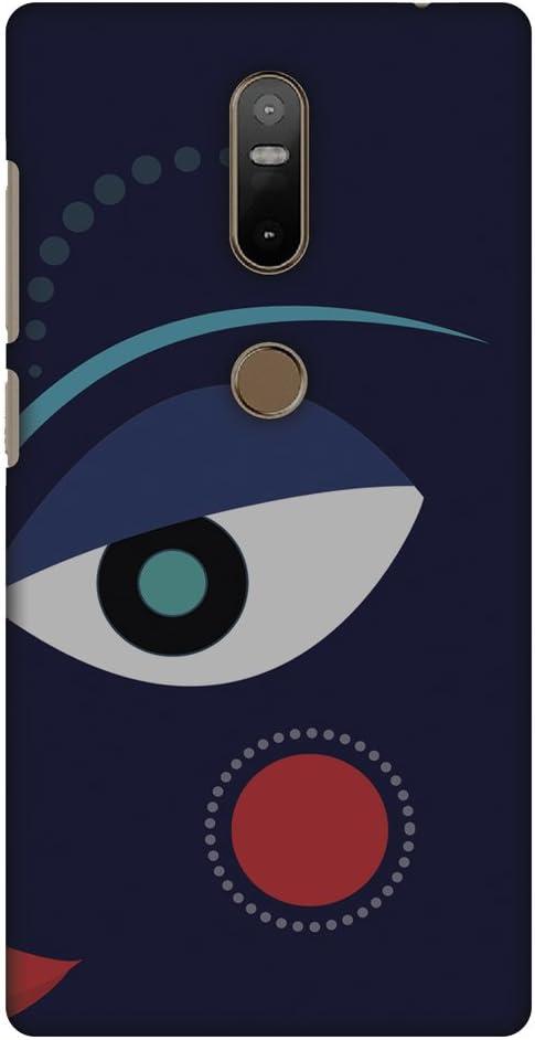AMZER Slim Handcrafted Designer Printed Hard Shell Case Back Cover For Lenovo Phab 2 Plus - Divine Goddess - Blue