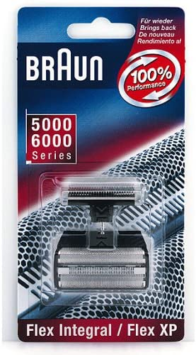 Braun Replacement Foil & Cutter - Flex Integral/Flex XP Combi Pack ...