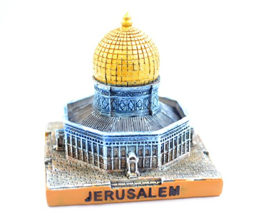 - Small Jerusalem Model / Statue Holyland Miniature Al-aqsa Mosque