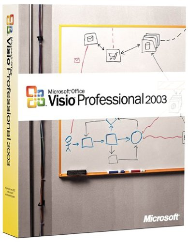 Microsoft Visio Professional 2003 [OLD VERSION] by Microsoft