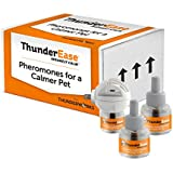 ThunderEase Cat Calming Pheromone Diffuser Kit - Reduce Scratching, Urine Spraying, Marking and Anxiety (90 Day Supply)