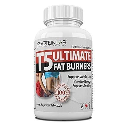 T5 Ultimate Fat Burners MUY POTENTE PASTILLAS ADELGAZANTES - termogénico quemagrasas - Pastillas PARA ADELGAZAR -