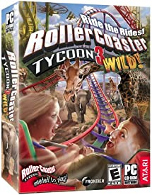 Rollercoaster Tycoon 3: Wild! Expansion - PC     - Amazon com