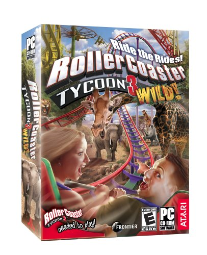 Rollercoaster Tycoon 3: Wild! Expansion - PC Pc Roller Coaster Tycoon 3