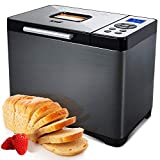 KBS Automatic Bread Machine, 2LB Stainless Steel