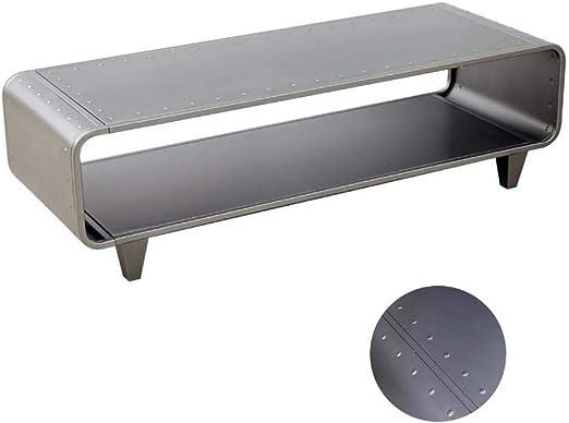 Dipamkar® Dipamkar® Metal TV Cabinet Stand, Mesas para TV, Mesa de ...