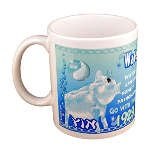 Astrology Chinese Zodiac Water Pig Cup/Mug Years 1923 And 1983 - Chinese Astrology Pig