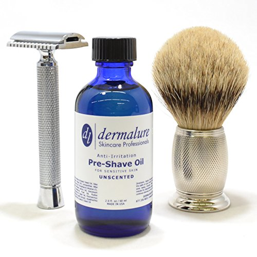 - Pre-Shave Oil, UNSCENTED Shaving Oil, 100% All Natural Oil for Sensitive Skin, Premium Quality for Anti-Irritation & Effortless Smooth Irritation-free. Ultra Gliding Shaving Oil (2.0 fl. oz / 60)