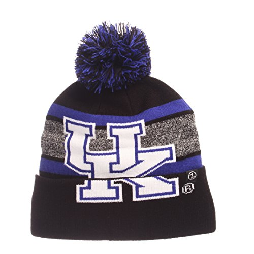 NCAA Kentucky Wildcats Mammoth Beanie, Adjustable, Black/Team Color (Kentucky Ncaa Football Wildcats Acrylic)