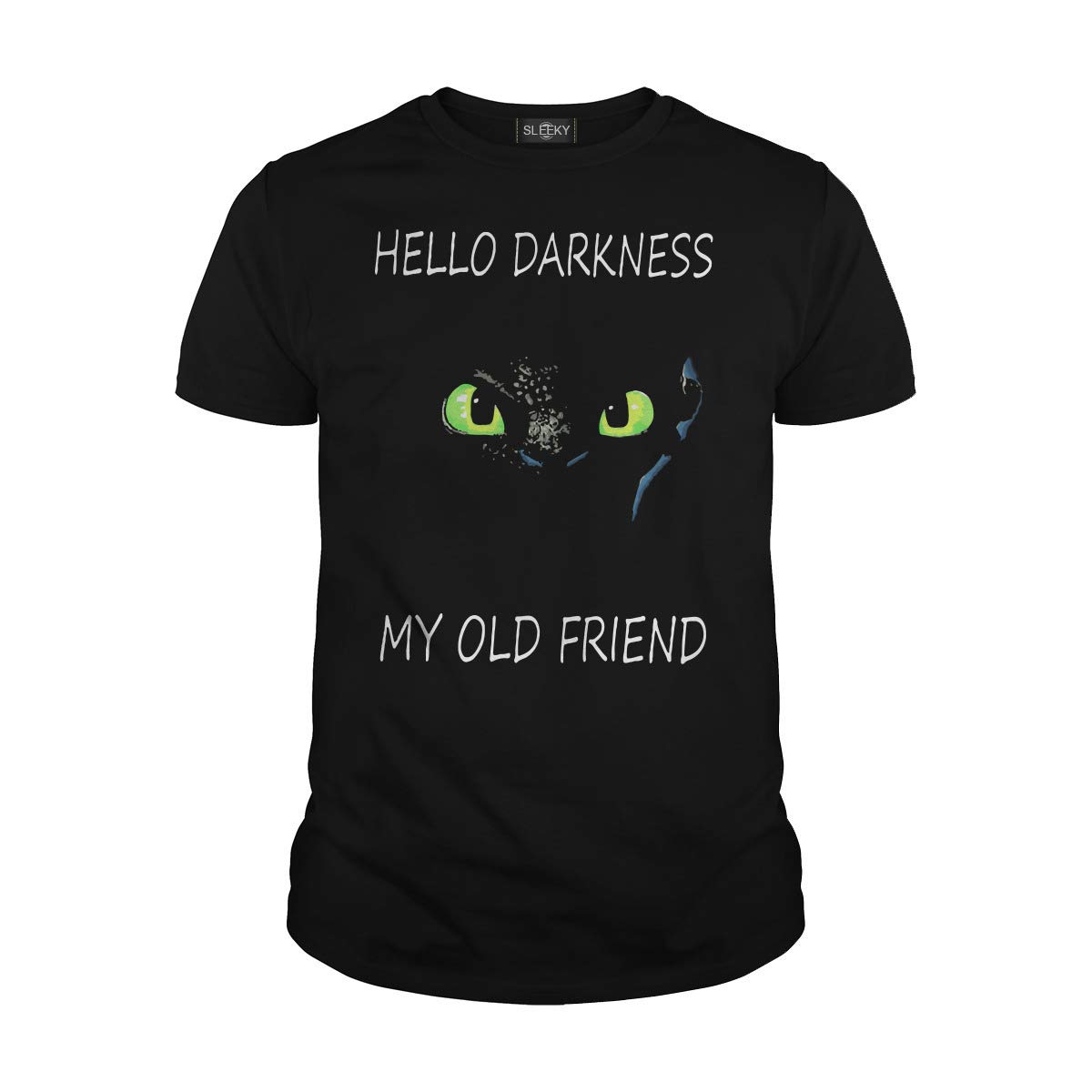 Toothless Hello Darkness My Old Friend Tshirt