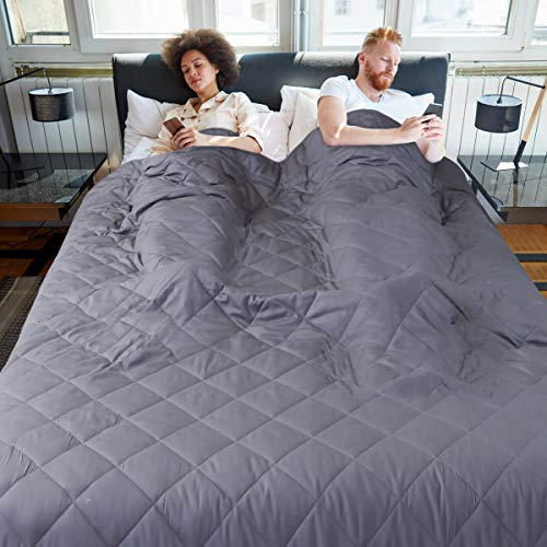 JOLLYVOGUE Queen Size Weighted Blanket - 25 Pounds
