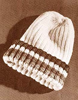 Vintage Knitting Pattern to Make a Pea Cap Beanie Knit Stocking Hat Kindle  Edition 8cac5e2946f