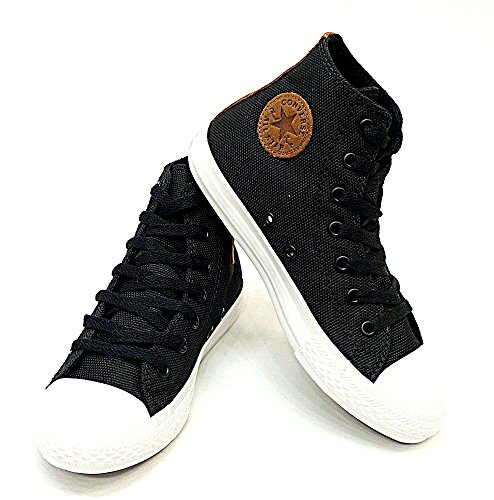 Converse Black Chuck Taylor All Star Hi Top Kids Youth (13)