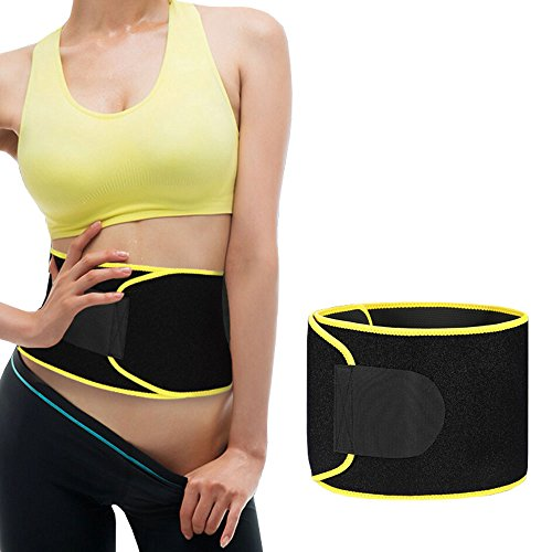 Goodlee Waist Trimmer,Belly Fat Burner,Weight Loss AB Belt For Men & Women, Workout Sweat Enhancer Exercise Adjustable Wrap for Stomach. Review