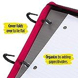 Five Star Flex Hybrid NoteBinder, 1 Inch Ring