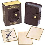 Pocket Compendium: Tome of Recollection | Customizable RPG Item, Spellbook, & Reference Card Holder...
