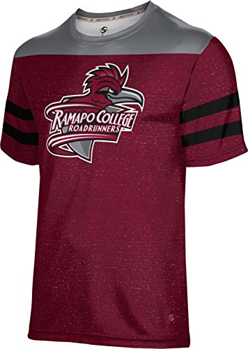 ProSphere Ramapo College of New Jersey Men's Performance T-Shirt (Gameday) FCF52 Red and Gray