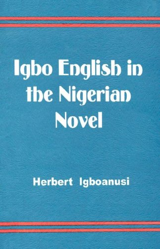 Igbo English in the Nigerian Novel (Fountain Junior Fiction Series) (English and Swahili Edition) by Enicrownfit Publ.