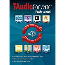 TAudioConverter PRO - The ultimate Audio Converter: MP3 Converter, Ripping software, Extract Audio Tracks from movies