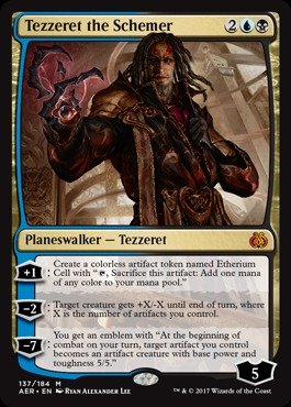 Magic: the Gathering - Tezzeret the Schemer (137/184) - Aether Revolt