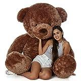 Giant Teddy Original Bear - Osos de peluche de tamaño real (15,2 m), color marrón