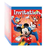 Mickey Mouse Party Invitations, 8ct
