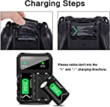 TAIKER Compatible with Xbox One Battery 3 Pack x