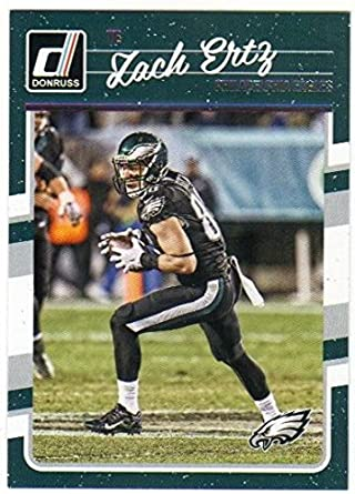 2016 Panini Donruss 10 cards!! Zach Ertz!!! Eagles team set!!