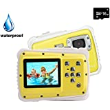 Kids Digital Camera, YTAT Underwater Digital...