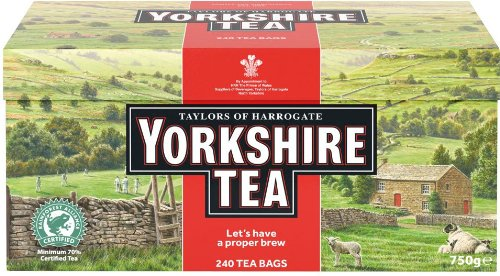 Taylors of Harrogate Yorkshire Red, 240 (Afternoon Delight Tea)