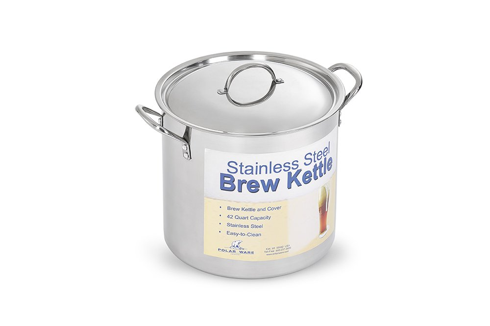 Polar Ware Stainless Steel Brew Pot with Cover, 20-Quart by Polar Ware