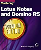 img - for Mastering Lotus Notes and Domino R5 Premium Edition book / textbook / text book