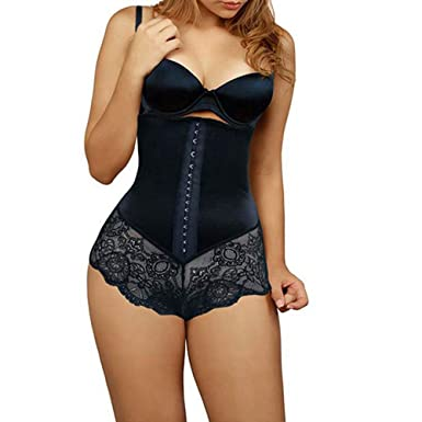 2e60eac540 Amazon.com  Corset Modeling Strap Bodysuit Waist Trainer Slim ...