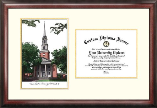 Campus Images ''Texas Christian University'' Scholar Diploma Frame, 8.5'' x 11'' by Campus Images