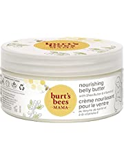 Burt's Bees Mama Bee belly butter, Fragrance Free Lotion, 185g