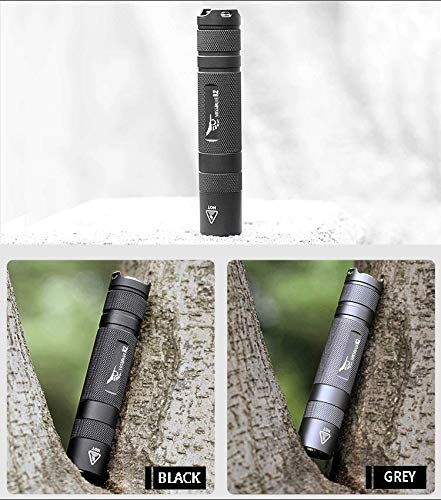 Super Bright 1600 Lumen LED Torch Flash Light,Tactical Flashlight Rechargeable,Linterna 18650 Flashlight (Black Set) by WISSBLUE (Image #1)