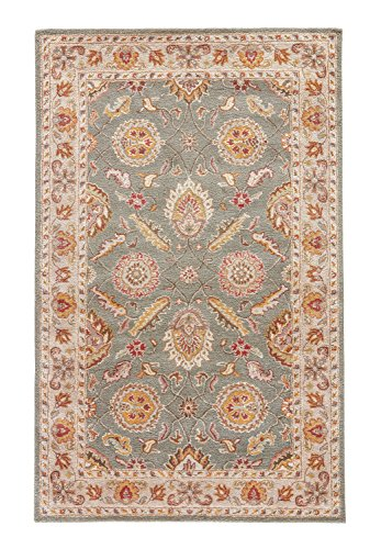 (Jaipur Living Callisto Hand-Tufted Oriental Green Area Rug (12' X 15') )