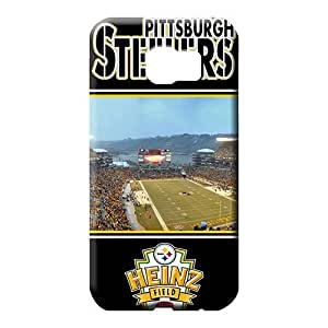 samsung galaxy s6 cell phone carrying covers New Style Heavy-duty Protective Stylish Cases pittsburgh steelers