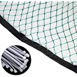 ASENVER Multifunction Golf Ball Netting Impact Golf Barrier Net Practice Hitting Net for Indoor or Outdoor Use 10 x 3 Ft- 10x