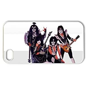 All American Cases Music Band KISS Back Case Protector for iphone 4 4S 4G - 1 Pack Hard Plastic Case-09