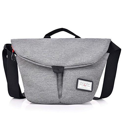 TENGGO Bag Leisure Oxford Bag Multi Red Gray Waterproof Messenger Crossbody Women function ErXA5qr