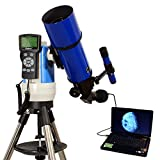 Blue 80mm Computer Controlled Refractor Telescope with 3MP Digital USB Camera