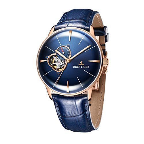 Reef Tiger Casual Blue Dial Watch for Men