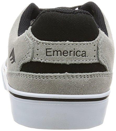 Scarpe Emerica: The Reynolds Low Vulc Grey/Black GR