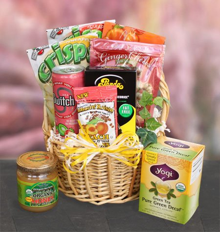 Naturally Fat-Free Healthy Gift Basket by Well Baskets